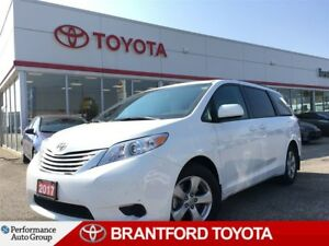 2017 Toyota Sienna Under 18, 000 kms!!, Back Up Camera, Alloy's