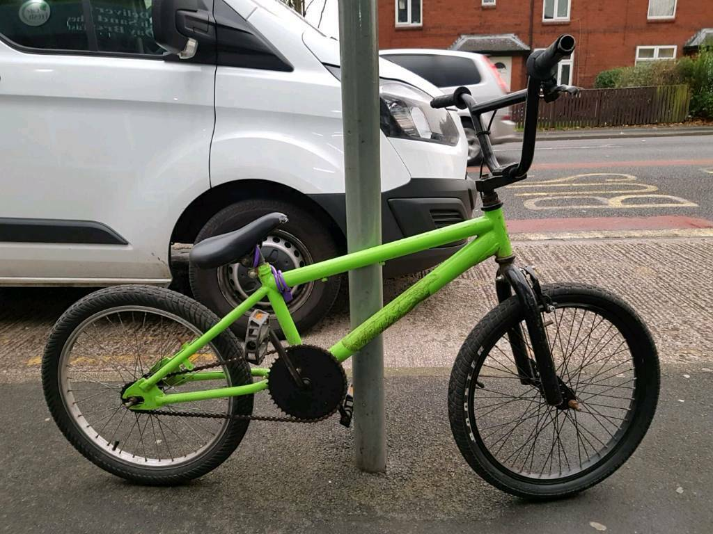 BMX bike pushbike