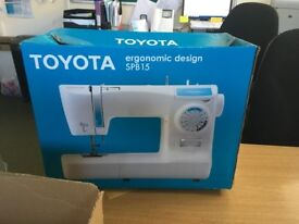 Reliable sewing machine - ideal for first timers