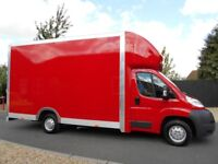 24/7 Reliable Professional Man And Van From £15/H. Hire Luton Tail Lift Van/ 7.5 Tonne Lorries