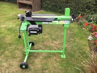 230v Electric/Hydraulic 4 Ton Log Splitter with stand
