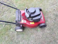 Mountfield self propelled petrol lawn mower SP454 lawnmower for spares or repair
