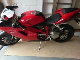 Ducati 848, 2010, 11100 miles, £6000 ONO - 1 owner, full history, 2 keys