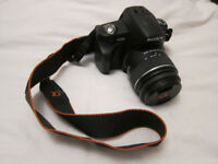 Sony Alpha A230 10.2MP digital SLR camera - with 18-55mm f3.5/5.6 lens, LowePro bag etc- immaculate