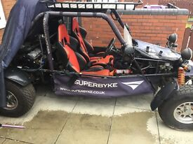 dazon superbyke 1100cc buggy road legal car