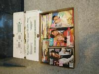 Soap opera books (late 60s to the late 90s)