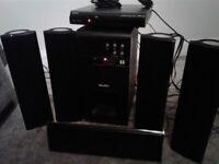 Bush surround sound dvd/cd system