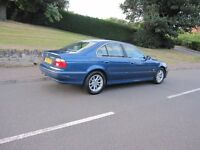 BMW 5 SERIES 525 D SALOON 4 DOOR GOOD RUNNER TURBO WORKS PERFECTLY