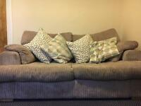 3 seater sofa bed. As new.