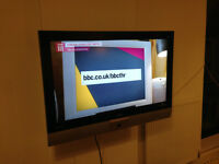 "FLAT SCREEN BUSH 37"" INCH TV TELEVISION VERY GOOD CONDITION £65"
