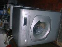 8kg Hotpoint washing machine +del + inst
