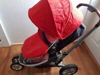 3 wheel pram, Mothercare xpedior pushchair