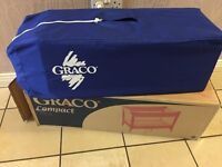 Graco compact travel cot