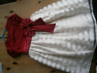 girls xmas/party dress age 5