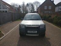 Land Rover Freelander; 2002; 12 Months MOT; 2.0 Diesel; Manual;