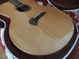 TSM3 Michael Sanden Guitar (Tanglewood Master Design) Jumbo Acoustic with SKB Hard Case