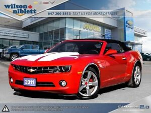 2011 Chevrolet Camaro LT ACCIDENT FREE