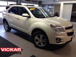 2013 Chevrolet Equinox 2LT/LEATHER/MOONROOF/NAVI/1 OWNER LOCAL T