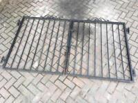 4ft Metal drive gates