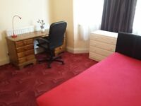 Double Bedroom +Furnished+ very clean & bright for £460 pcm bills included