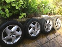 Volvo Wheels and Tyres *****£35 EACH ******