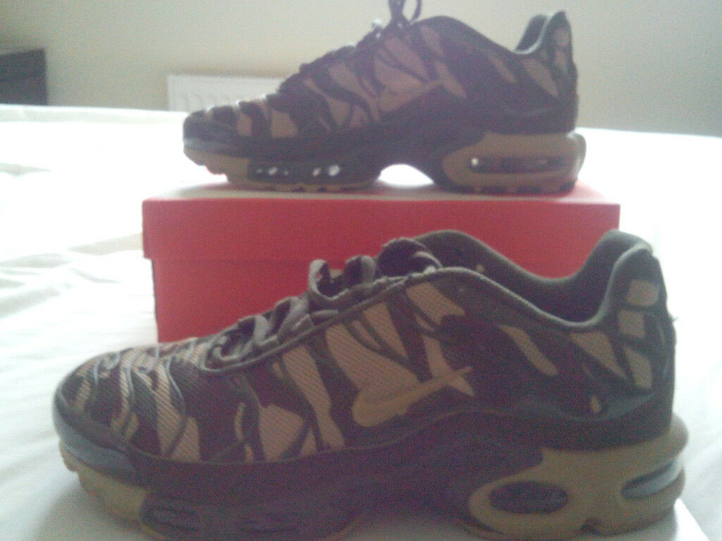 486f416b22 RARE Nike Air Max Plus TN Camo Army UK 8 | in Dagenham, London ...