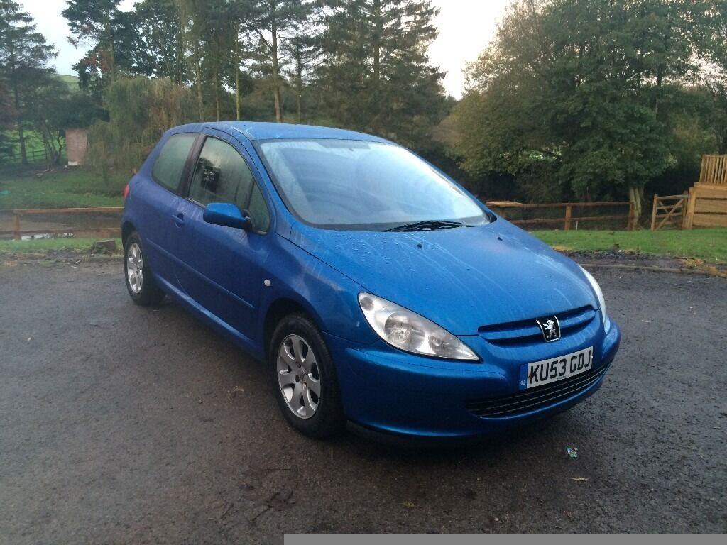peugeot 307 1.4 blue very long mot STARTS DRIVES WELL GREAT WORK HORSE