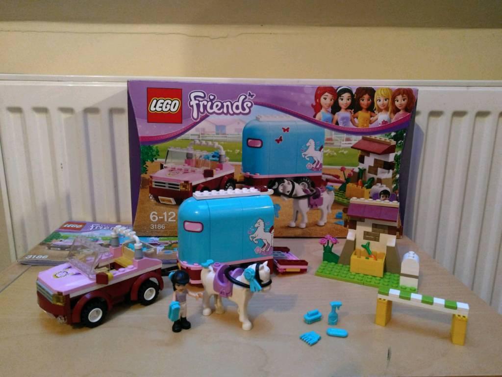 Lego Friends Emmas Horse Trailer 3186 In Darlington County