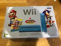 Nintendo wii blue limited edition 2012 olympics