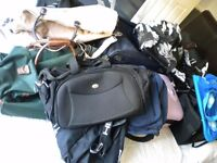 Job lot of 12 Suitcases, Holdalls and bags.