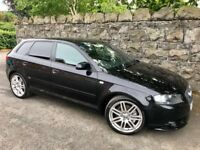 2008 Audi A3 S Line 5 door 2.0 Tdi *Audi service history* low miles warranty available!