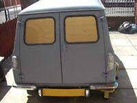 mini cooper trailer van