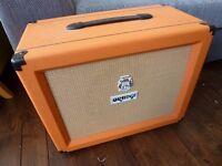 Orange ppc112 guitar speaker cabinet