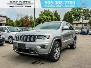2018 Jeep Grand Cherokee STERLING EDITION, 4X4, SUNROOF, NAV, LE
