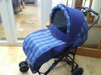 A pram in tiptop condition BRITAX ITALIAN COLLECTION