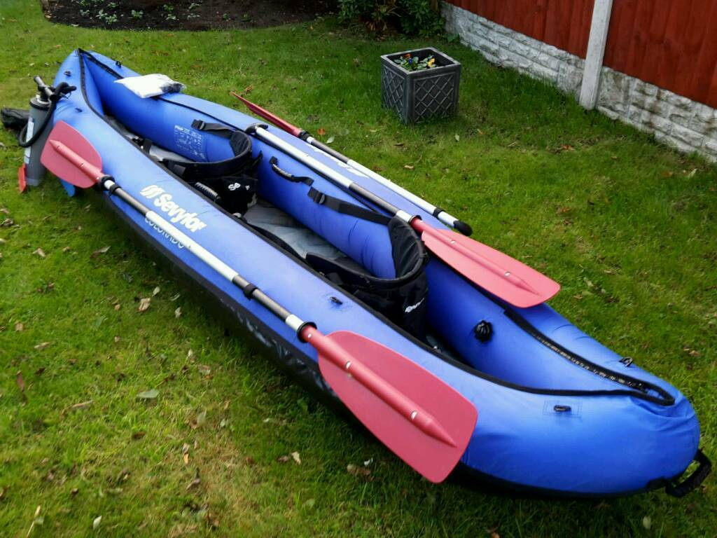 Sevylor Colorado 2 Person Inflatable Kayak