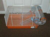 HAMSTER CAGE WITH TUBE £10
