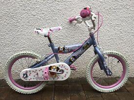 "Girls Puppy Pedal Bike 14"""