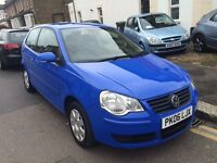 VW VOLKSWAGEN POLO 1.2 3 DOOR 2006 MANUAL LOW MILEAGE CLEAN CAR LONG MOT 2 KEYS