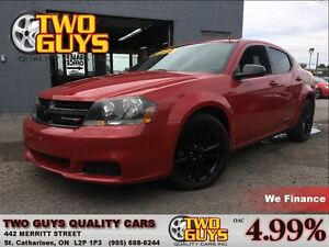 2014 Dodge Avenger BLACKTOP| AUTO | SPOILER | ALLOYS
