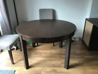 Ikea Bjurtsa extendable dining table
