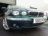 💥 03 JAGUAR X-TYPE 2.1 AUTOMATIC,MOT JUNE 017,PART HISTORY,3 OWNERS FROM NEW,VERY SCARCE AUTOMATIC