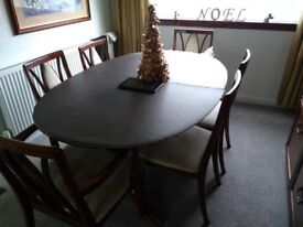 Mint condition G plan dining table