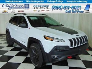 2016 Jeep Cherokee Trailhawk 4X4 * Backup CAM * Heated Seats * L