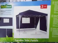 Gazebo side panels