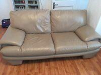 Leather Sofa 3 & 2 Seater