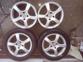 Fox 16inch Alloy Wheel x 4