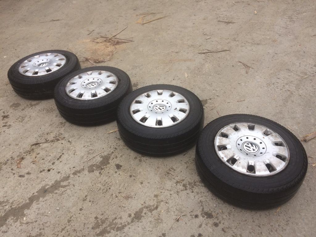 Vw t5 wheels 205/65/16