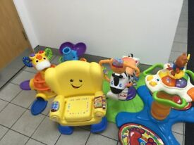 Job Lot Bundle of Childrens Toys inc Vtech and Fisher Price