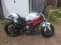 Ducati Monster 796 with Termignoni exhausts